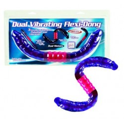 Dual Vibrating Flexi Dong 16-inch