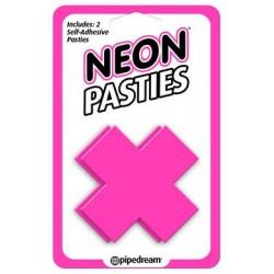 Neon X Pasties - Pink