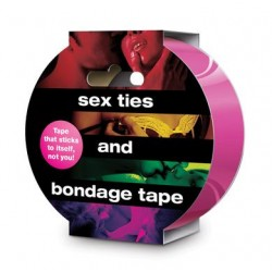 Sex Ties And Bondage Tape - Pink