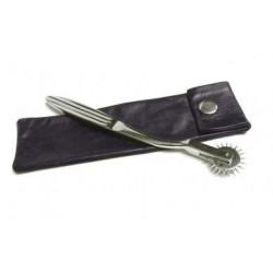 Wartenberg Pinwheel With Leather Sheath