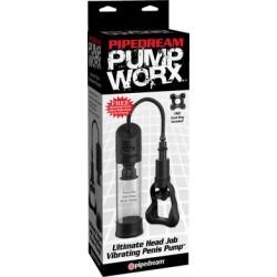 Pump Worx Ultimate Head Job Vibrating Penis Pump