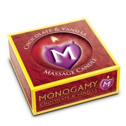 Monogamy Small Massage Candle - Passionate - Chocolate And Vanilla