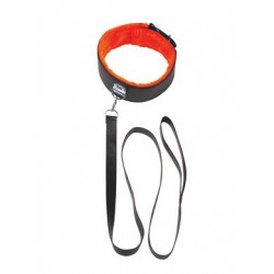 The 9's Orange is the New Black Short Leash - Black