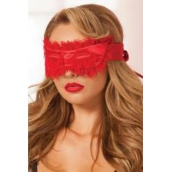 Satin Eye Mask - Red