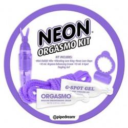Neon Orgasmo Kit - Purple