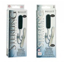 Sterling Collection Slimline Velvet Cote Bullet With Plug In Jack