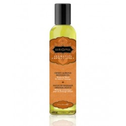 Sweet Almond Aromatic Massage Oil - 8 oz.