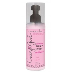 Crazy Girl Wanna Be Dazzling Sparkling Body Lotion - Pink Cupcake