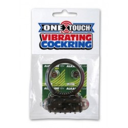 Mini One-Touch Cock Ring - Smoke
