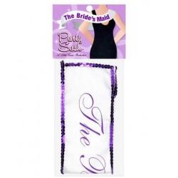 Miss Bachelorette's Sashes - Bride's Maid
