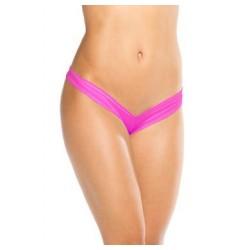 Scrunch Back Boy Short - Neon Pink - One Size