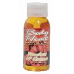 Body Heat - Peaches 'n Cream - 1 Fl. Oz.