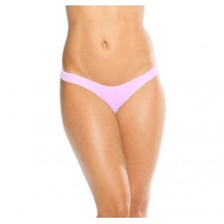 Scrunch Back Bikini Bottom - Baby Pink - One Size