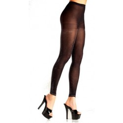 Opaque Black Tights - One Size