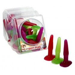 Mini Jelly Butt Plug - Bowl of 36