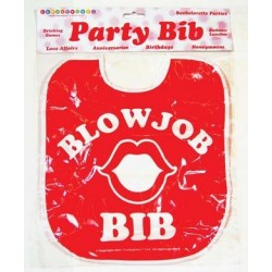 Blowjob Party Bib
