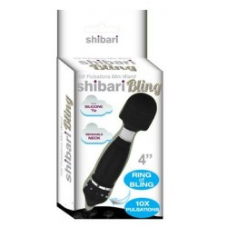 Shibari Bling Black Mini Wand