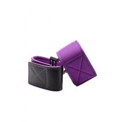 Reversible Wrist Cuffs - Purple