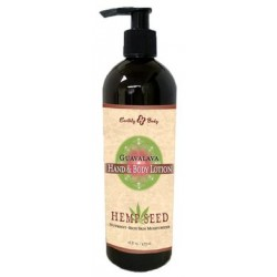Hemp Seed Hand and Body Lotion - Guavalava - 16 Fl. Oz.