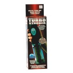 Waterproof Turbo Stroker - Clear