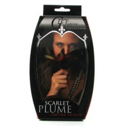 Scarlet Plume Feather Tickler