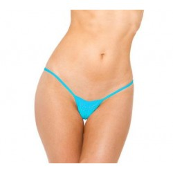 V-front Thong - Turquoise - One Size