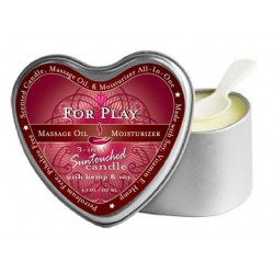 3-In-1 For Play Suntouched Candle With Hemp